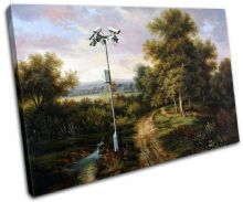 CCTV Painting Banksy Painting - 13-1023(00B)-SG32-LO